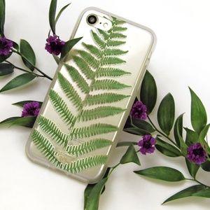UO Zero Gravity Leaf Print Iphone 7 Case